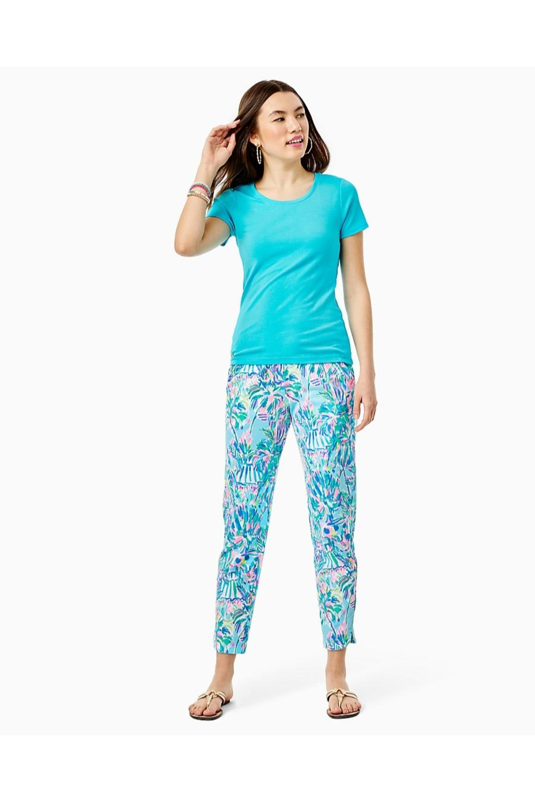 Lilly Pulitzer Halee Top - Side Cropped Image