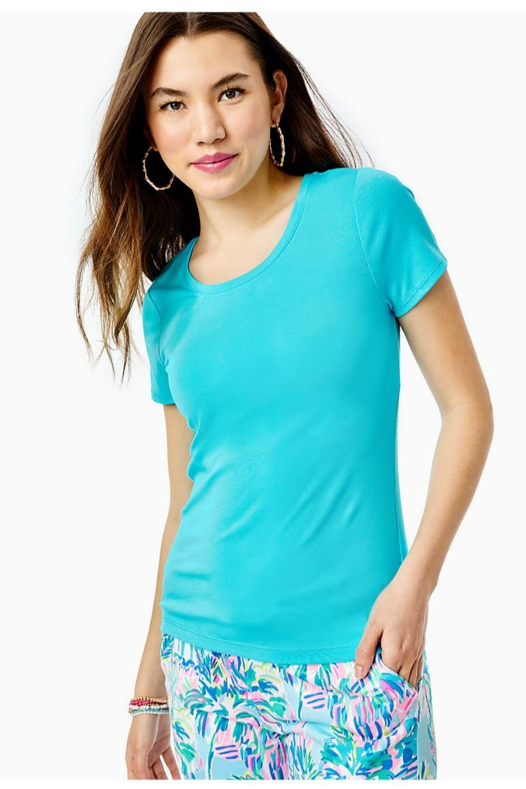 Lilly Pulitzer Halee Top - Main Image