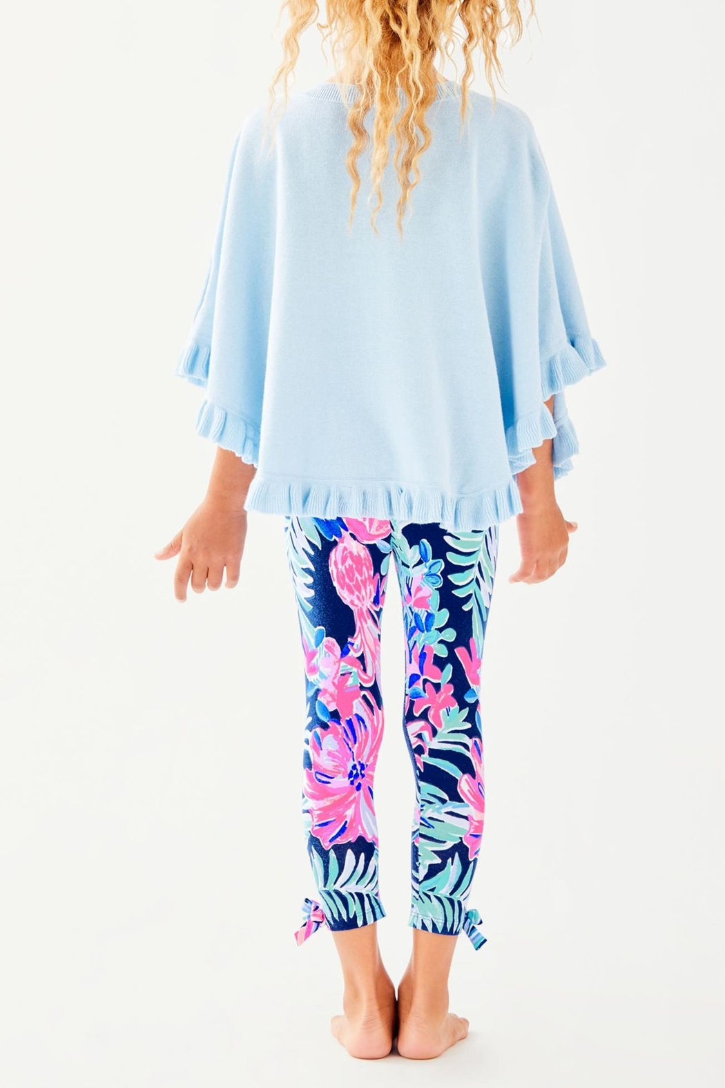 Lilly Pulitzer Hani Poncho - Front Full Image