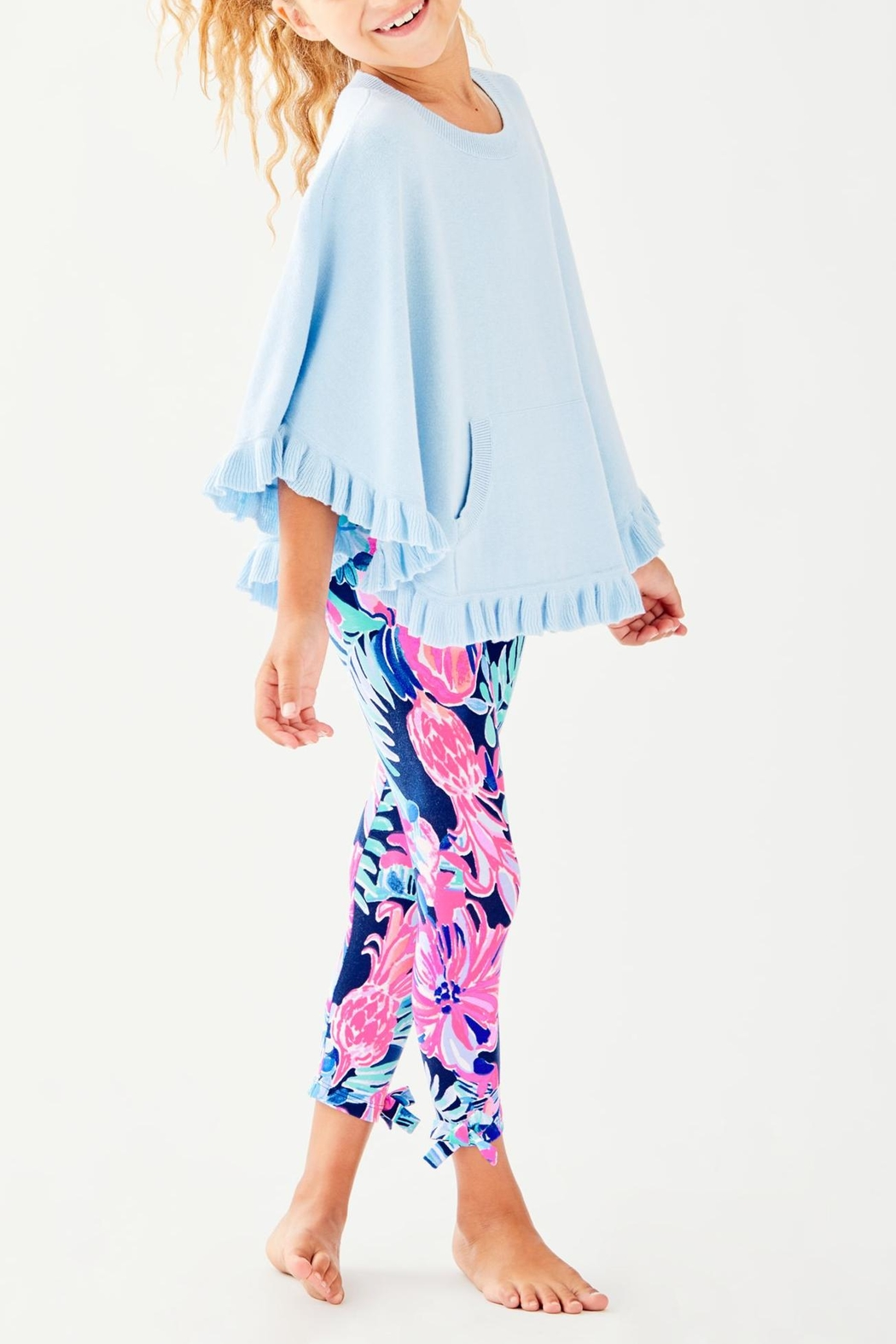 Lilly Pulitzer Hani Poncho - Side Cropped Image