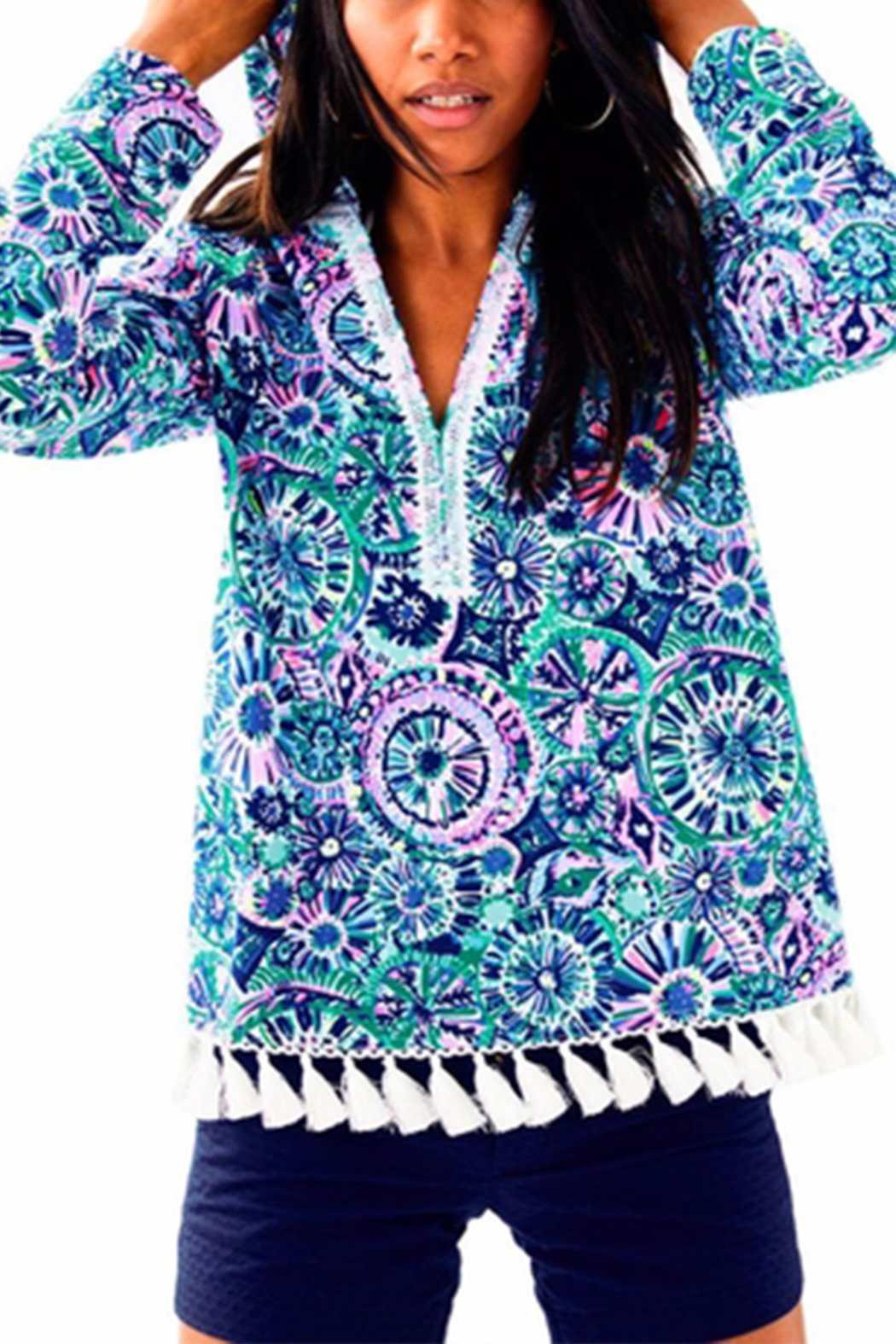 Lilly Pulitzer Harmon Hoodie - Main Image