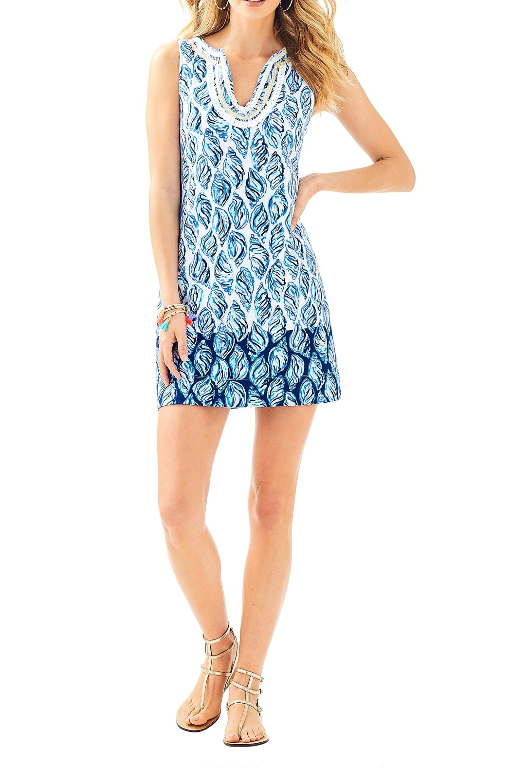 Lilly Pulitzer Harper Dress - Back Cropped Image
