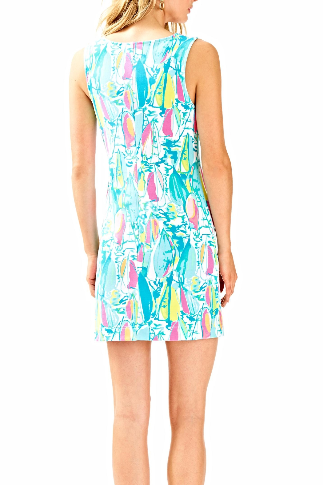 Lilly Pulitzer Harper Shift Dress - Front Full Image