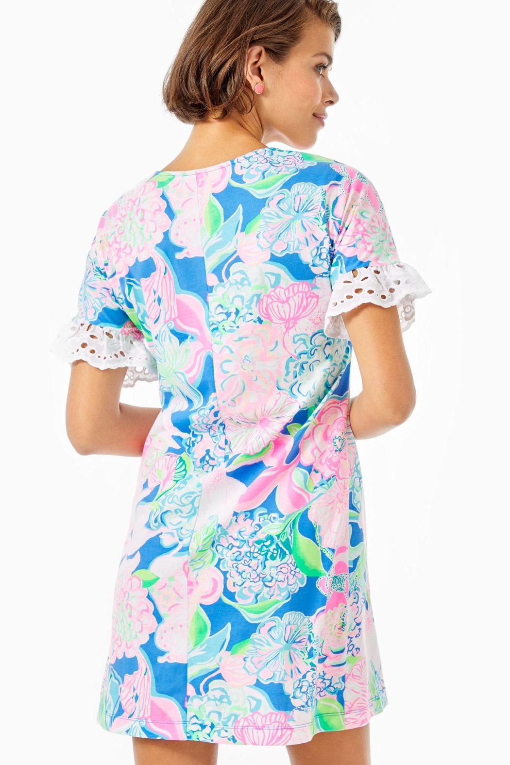 Lilly Pulitzer Helina T-Shirt Dress - Front Full Image