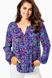 Lilly Pulitzer Hensley Lileeze Top - Product Mini Image