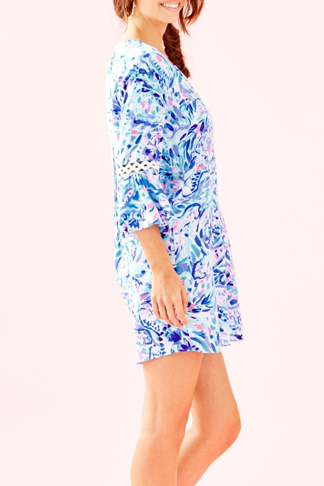 Lilly Pulitzer Hollie Tunic Dress - Side Cropped Image