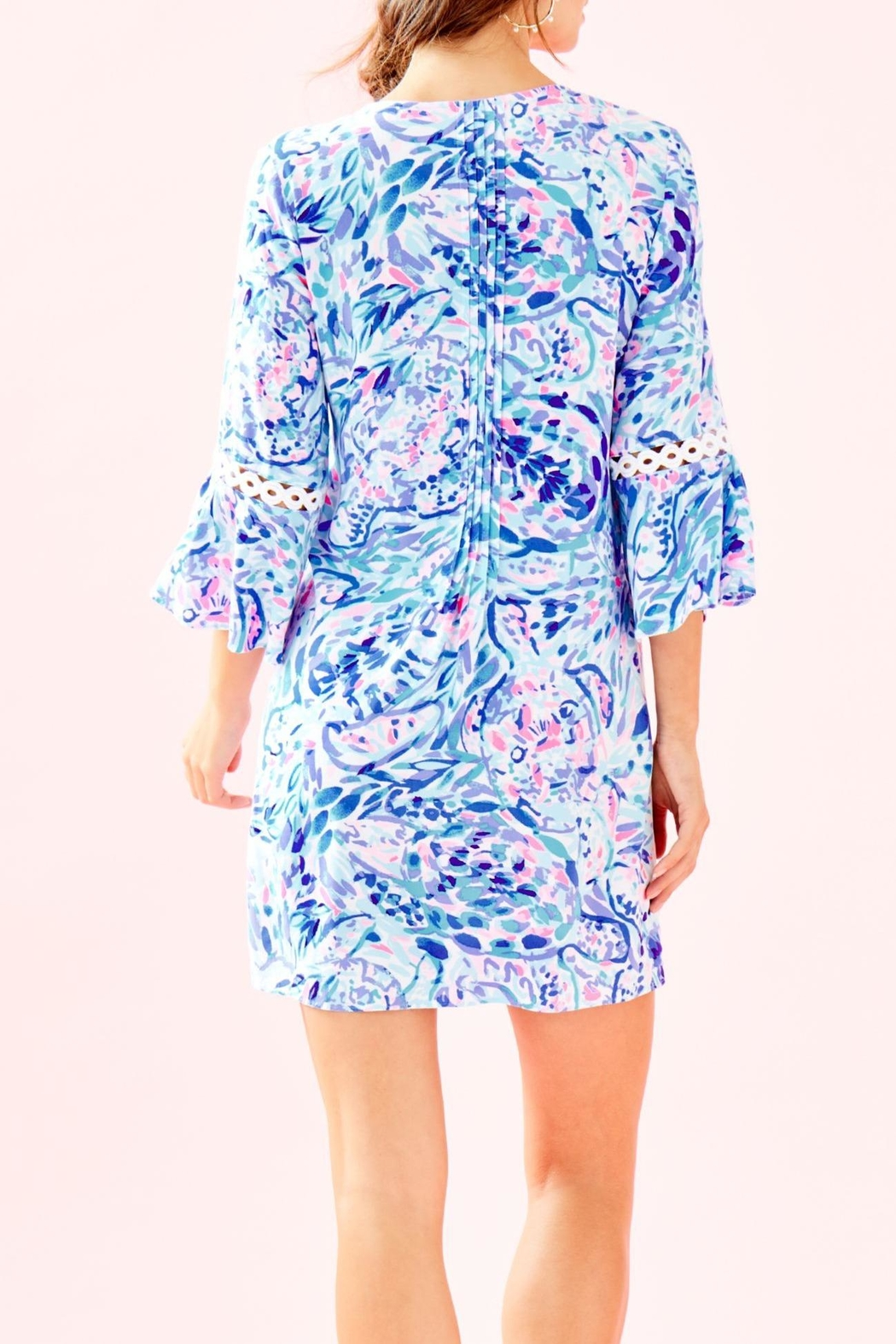 Lilly Pulitzer Hollie Tunic Dress - Front Full Image