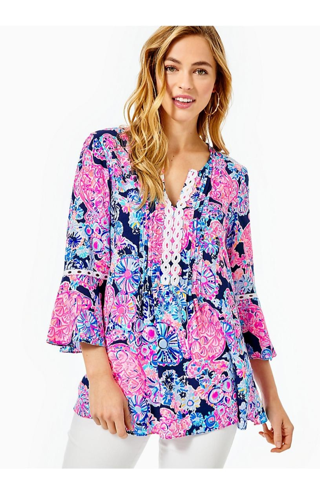 Lilly Pulitzer Hollie Tunic Top - Main Image