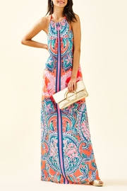 Lilly Pulitzer Hollyn Halter-Maxi Dress - Product Mini Image