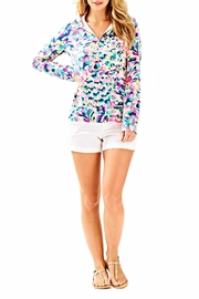 Lilly Pulitzer Hooded Skipper Popover Top - Product Mini Image