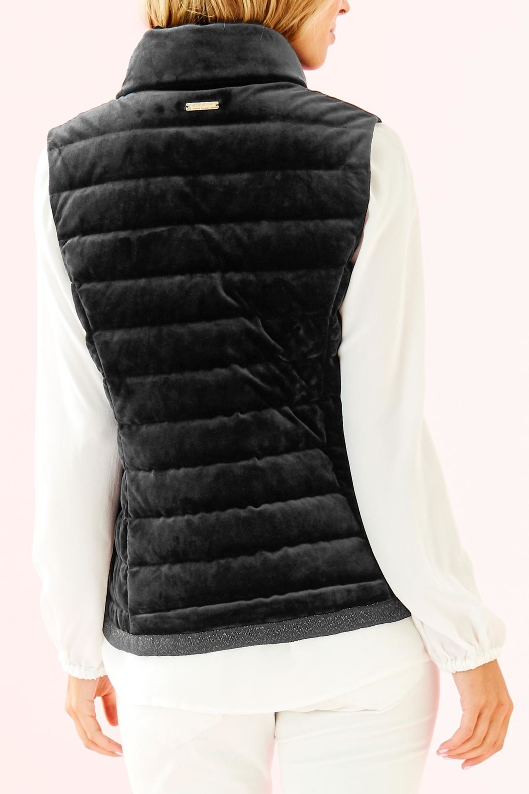 Lilly Pulitzer Iliana Puffer Vest - Front Full Image