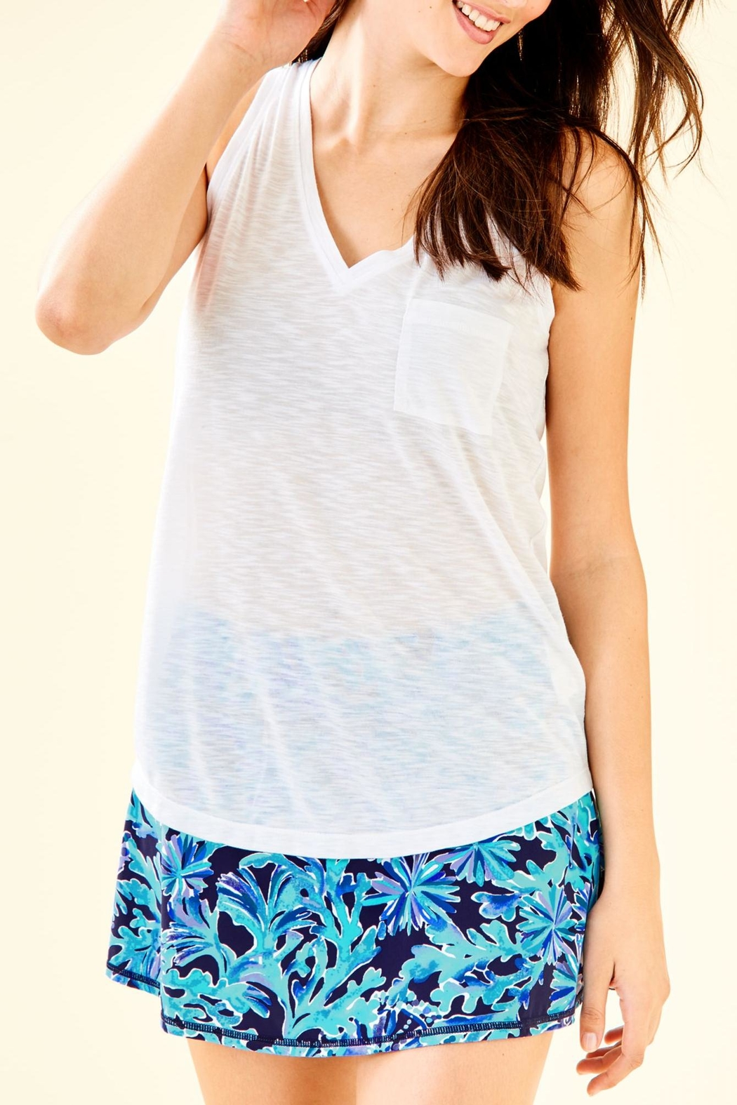 Lilly Pulitzer Luxletic Isla Tank - Main Image
