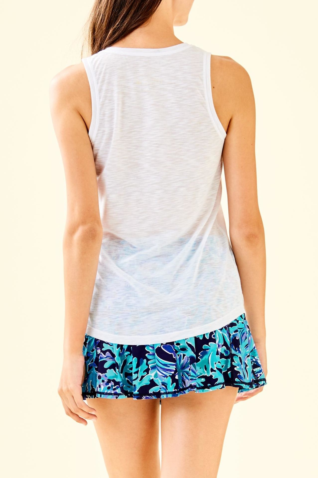 Lilly Pulitzer Luxletic Isla Tank - Front Full Image