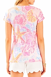Lilly Pulitzer Inara Linen Top - Front full body