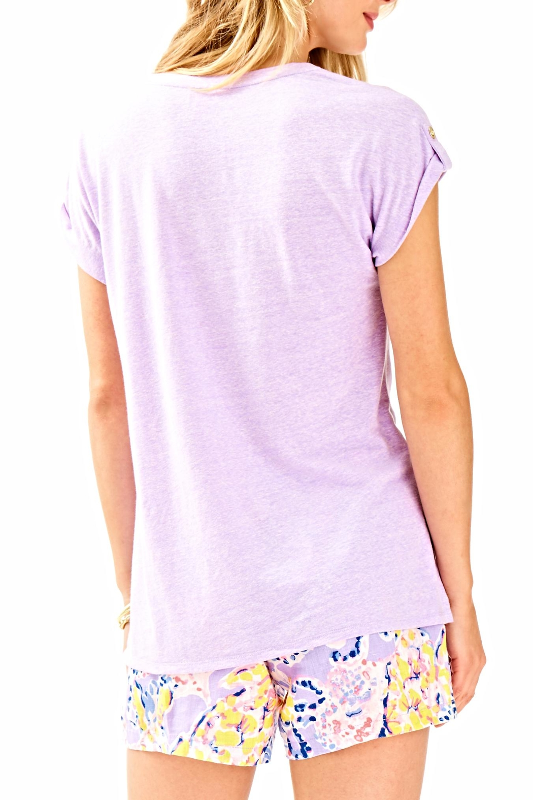 Lilly Pulitzer Inara Top - Front Full Image
