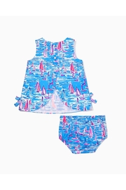 Lilly Pulitzer Infant Shift Dress - Side cropped
