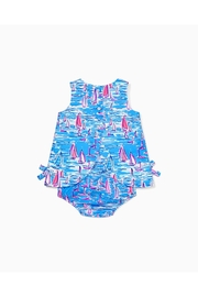 Lilly Pulitzer Infant Shift Dress - Front full body