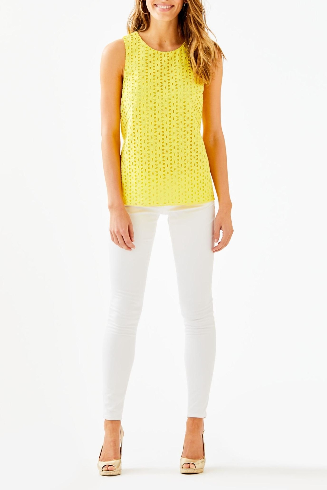Lilly Pulitzer Iona Top - Side Cropped Image