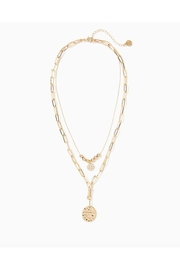 Lilly Pulitzer Island Hopping Necklace - Front cropped