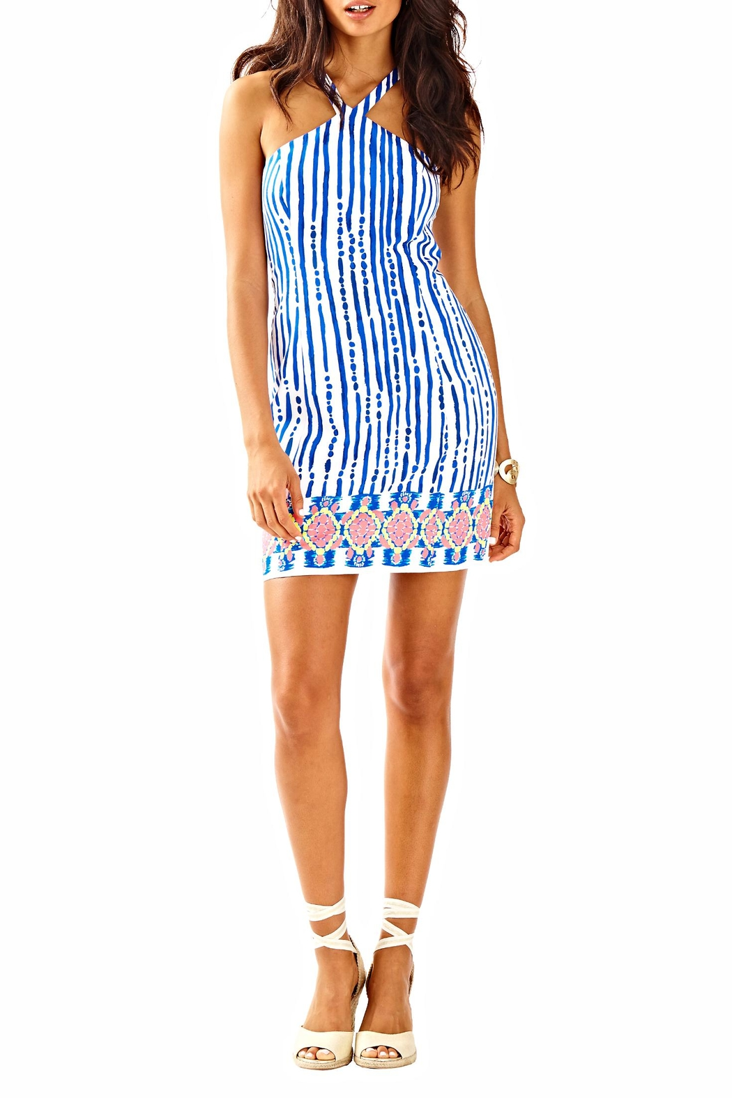 Lilly Pulitzer Iveigh Shift Dress - Back Cropped Image