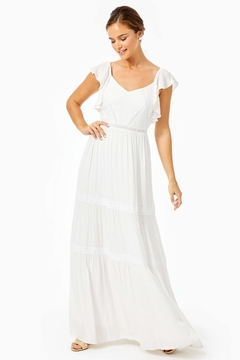 Shoptiques Product: Ivie Tiered Maxi-Dress