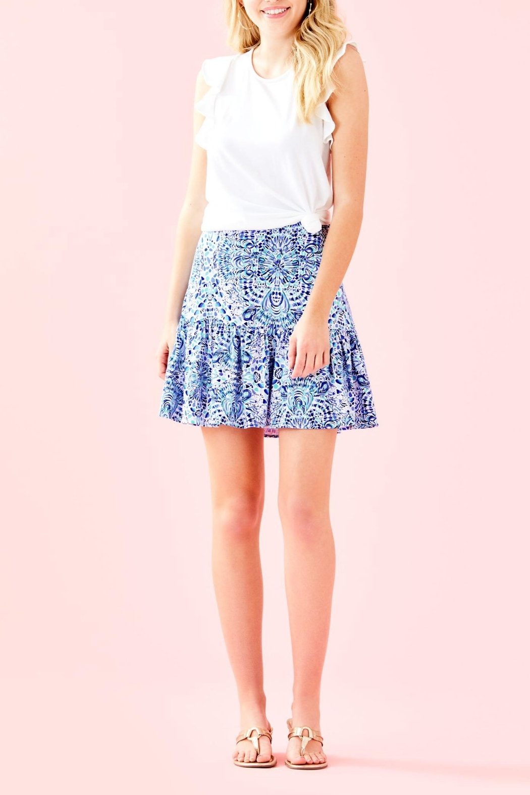 Lilly Pulitzer Jacey Skirt - Back Cropped Image