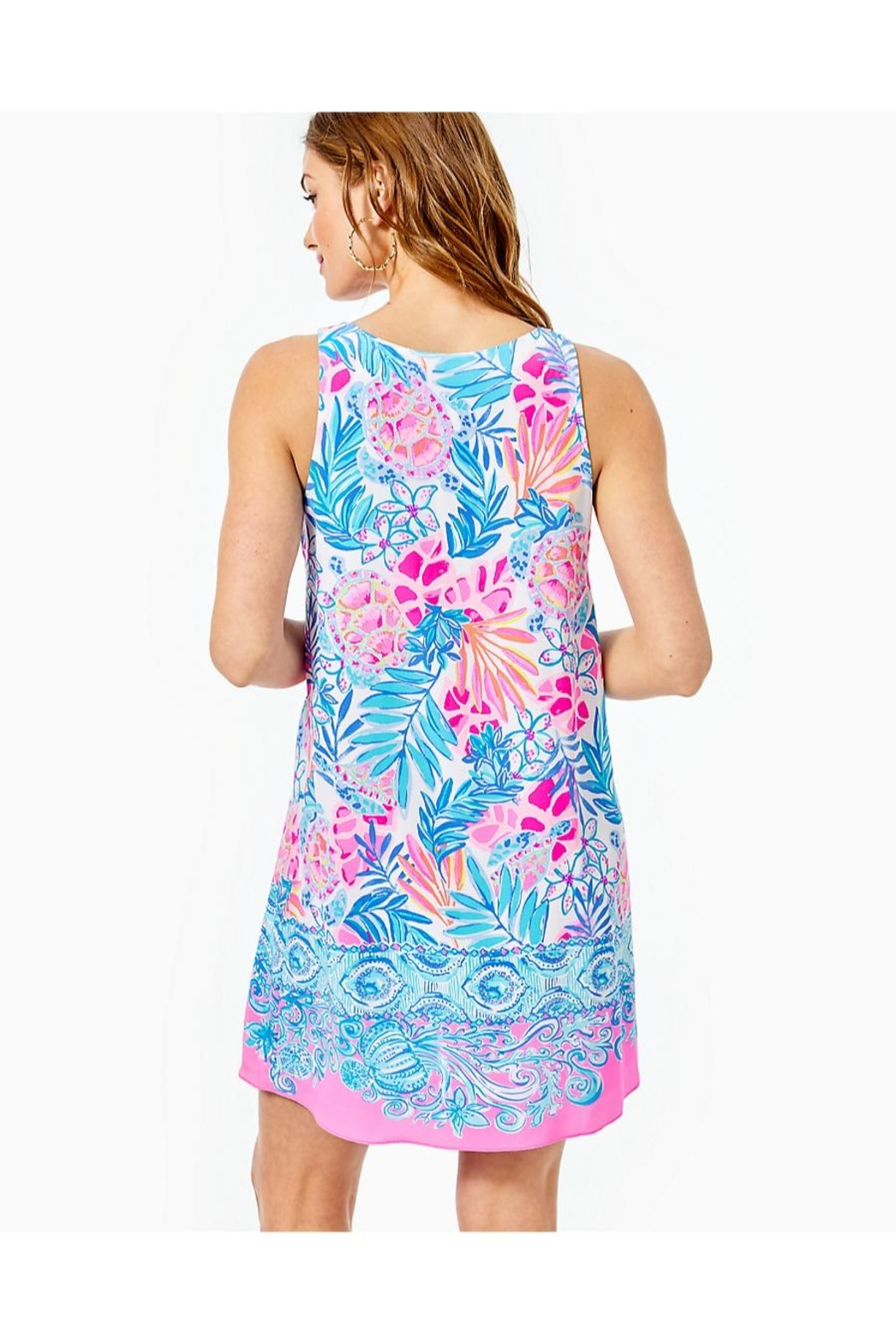 Lilly Pulitzer Jackie Shift Dress - Front Full Image