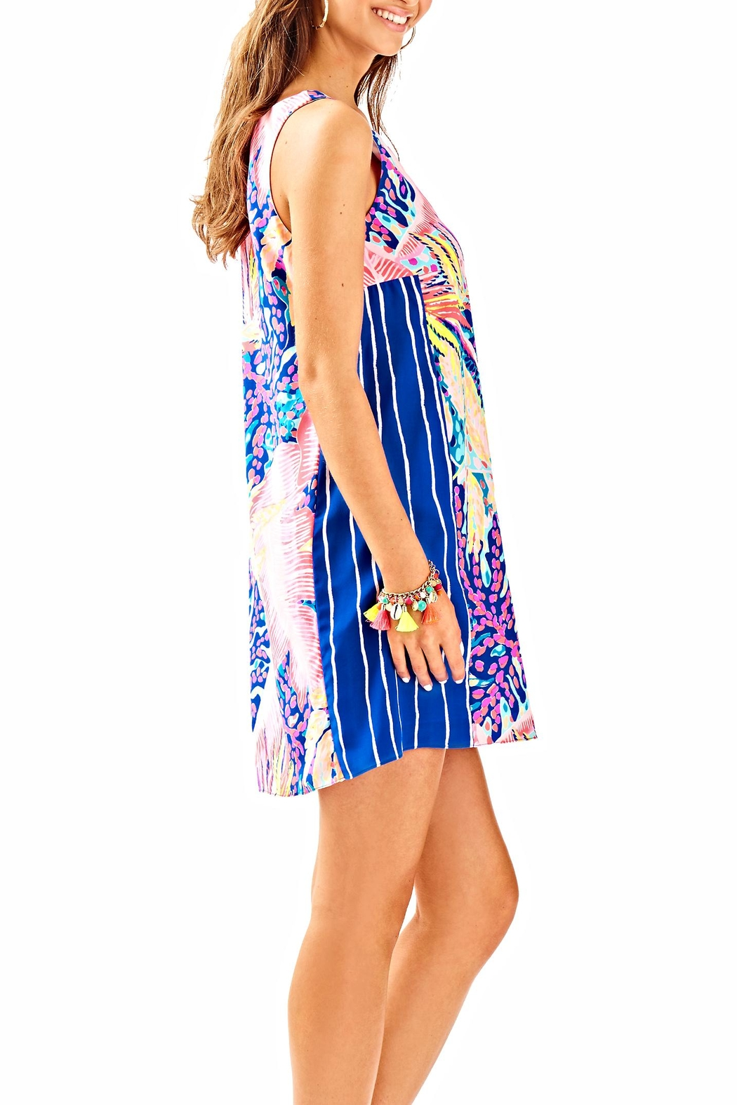 Lilly Pulitzer Jackie Shift Dress - Side Cropped Image