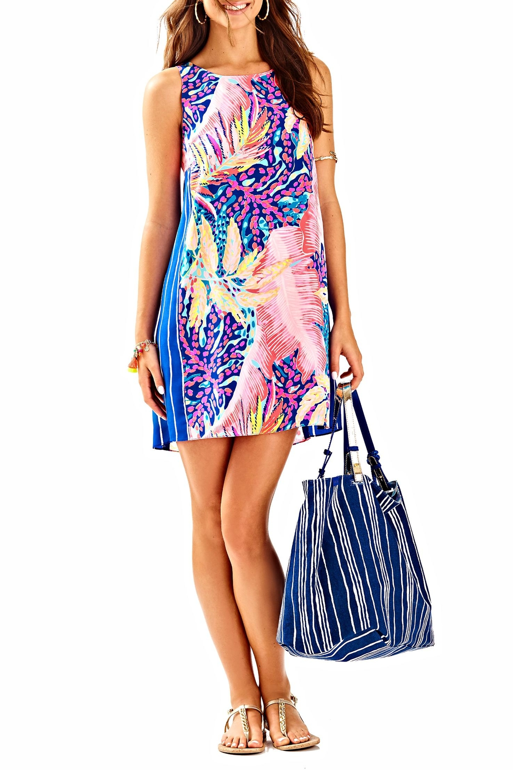 Lilly Pulitzer Jackie Shift Dress - Front Cropped Image
