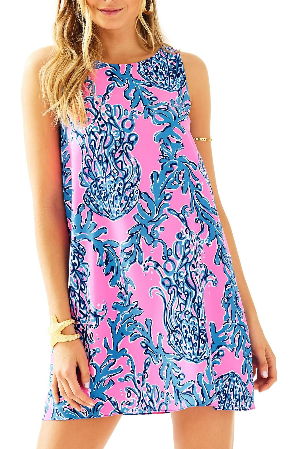 Lilly Pulitzer Jackie Silk Shift Dress from Sandestin Golf and ...