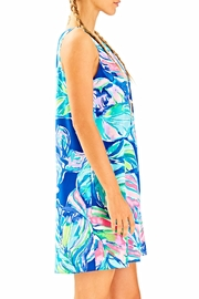 Lilly Pulitzer Jackie Silk Shift Dress - Side cropped