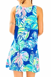 Lilly Pulitzer Jackie Silk Shift Dress - Front full body