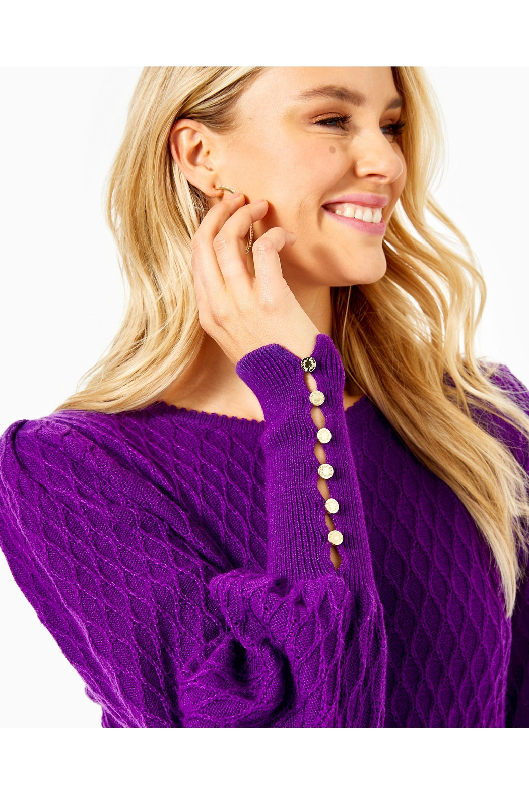 Lilly Pulitzer Jacquetta Sweater - Side Cropped Image