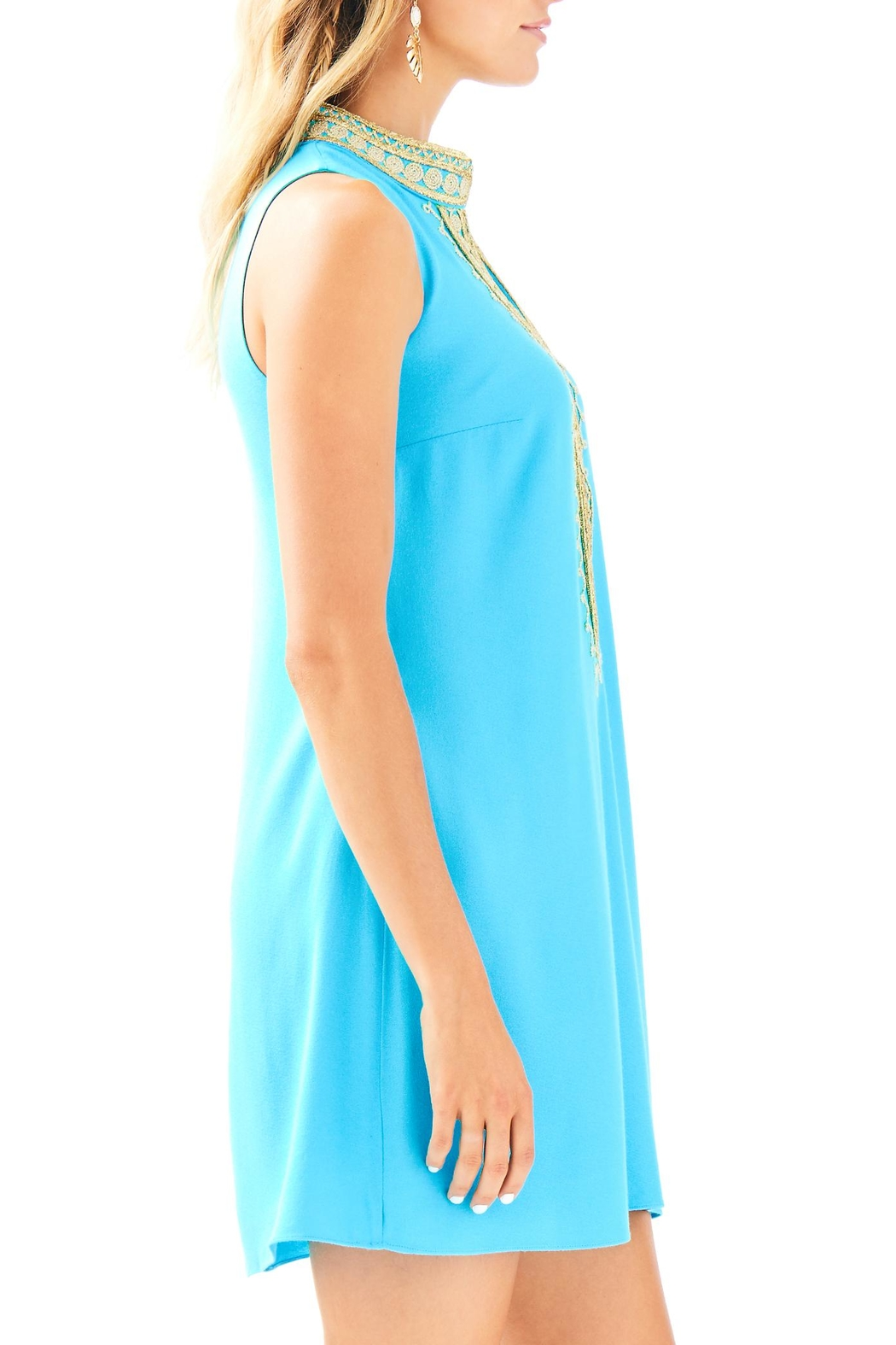 Lilly Pulitzer Jane Shift Dress - Side Cropped Image