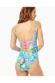 Lilly Pulitzer Jaspen One-Piece Swimsuit - Front full body