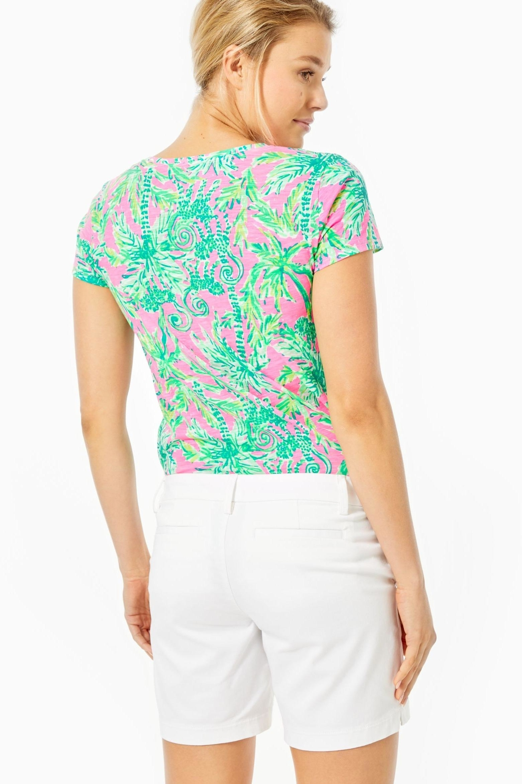 Lilly Pulitzer Jayne Stretch Short - Front Full Image