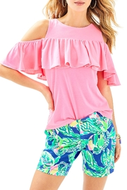 Lilly Pulitzer Jayne Stretch Short - Front cropped