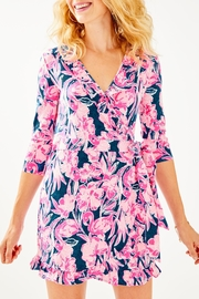 Lilly Pulitzer Jessalynne Wrap Romper - Product Mini Image
