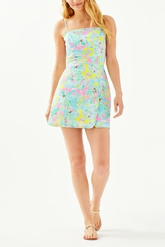 Lilly Pulitzer Jesse Ruffle Romper - Alternate List Image