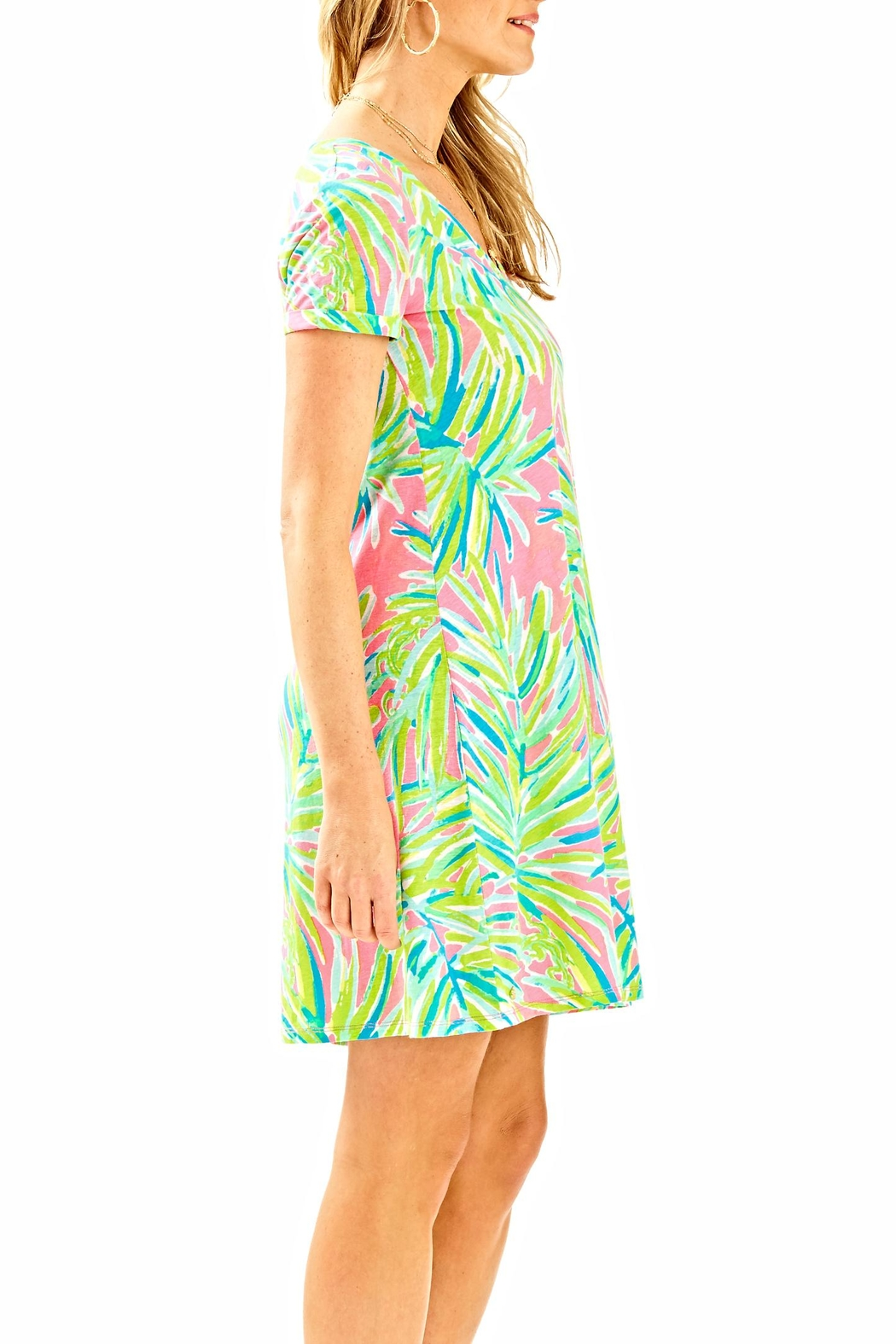 Lilly Pulitzer Short-Sleeve Dress - Front Full Image