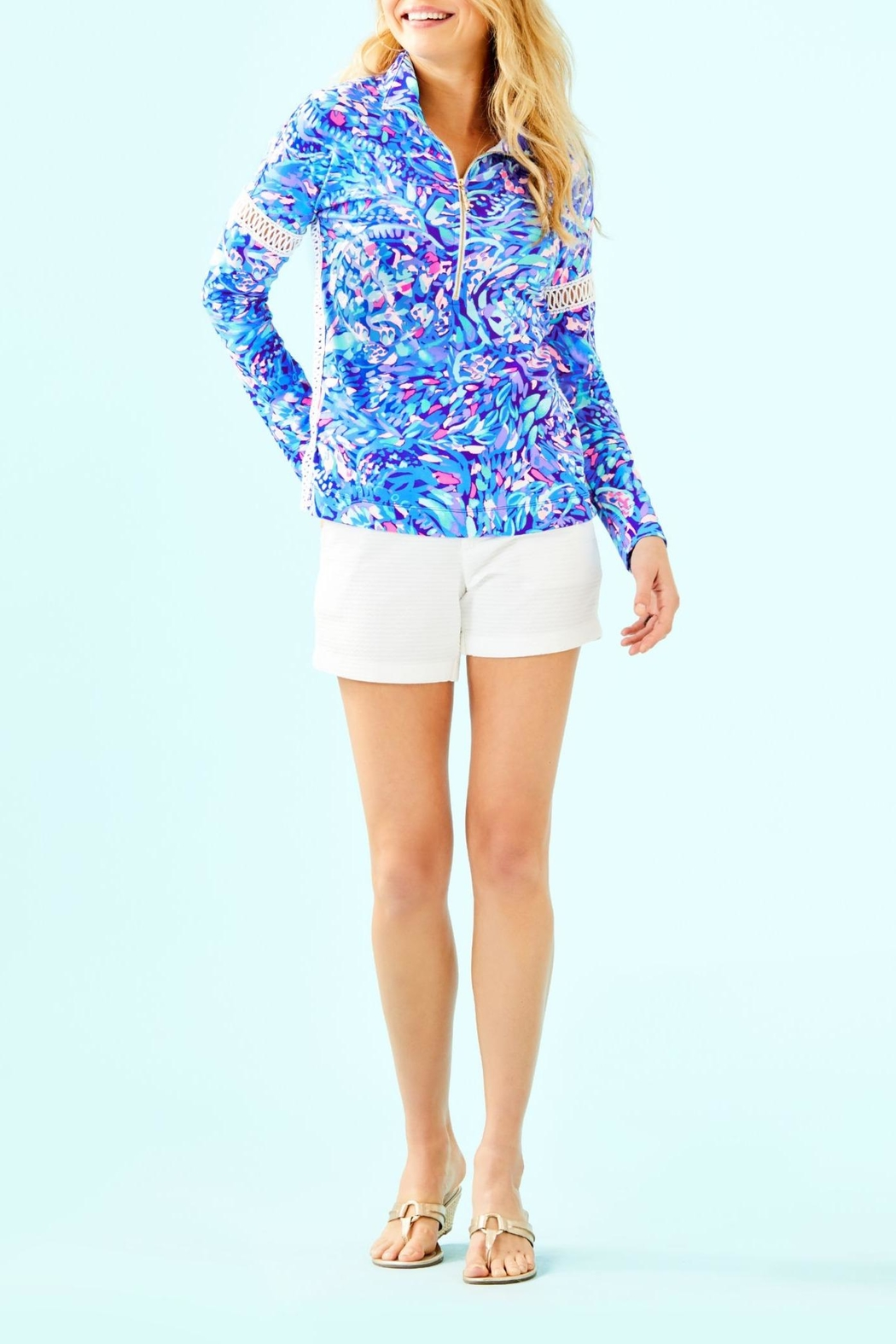 Lilly Pulitzer Jonah Popover - Side Cropped Image