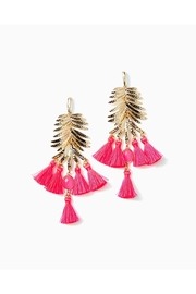 Lilly Pulitzer Jungle Rain Earrings - Front cropped