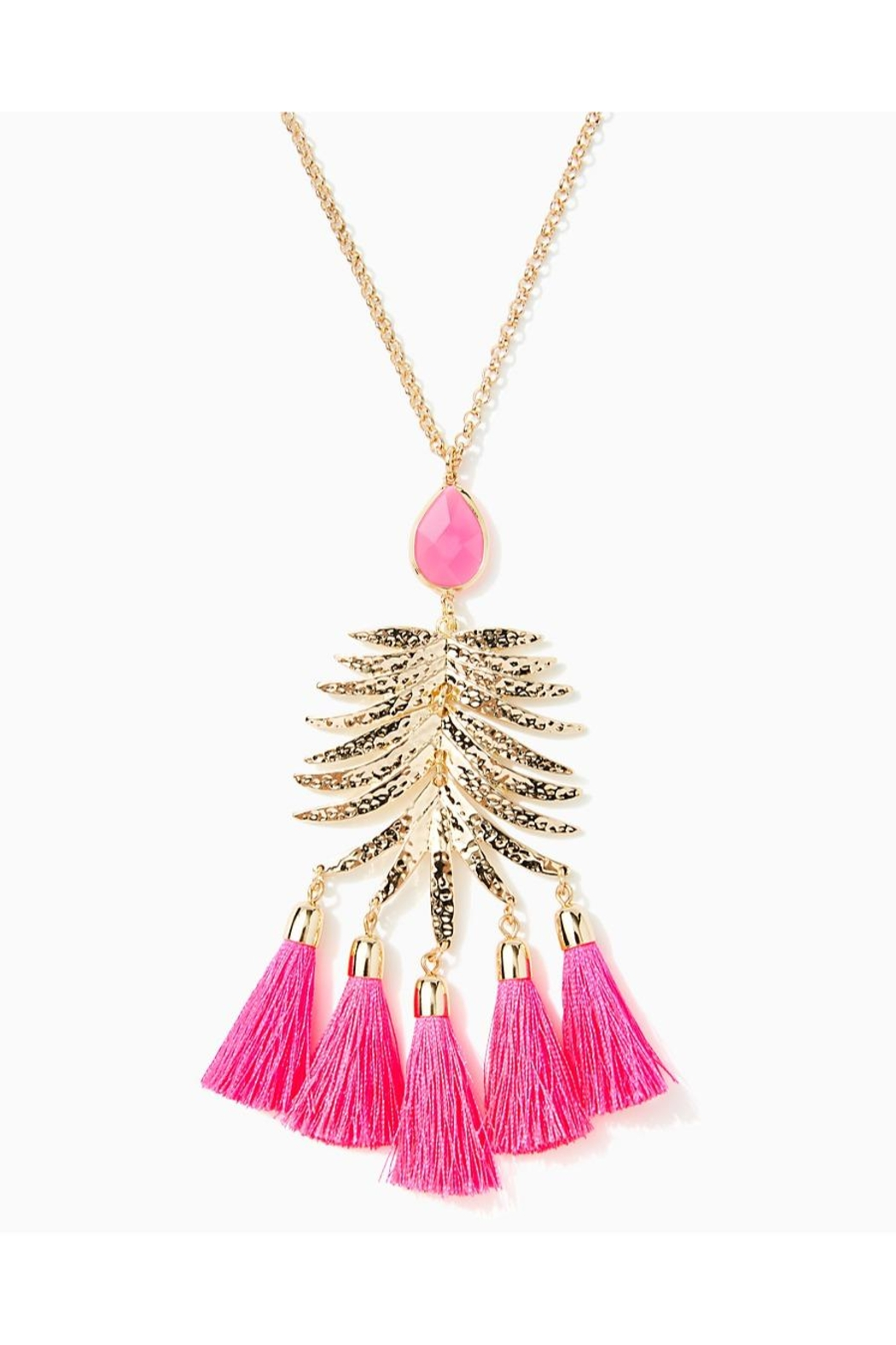 Lilly Pulitzer Jungle Rain Necklace - Front Full Image