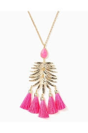 Lilly Pulitzer Jungle Rain Necklace - Front full body