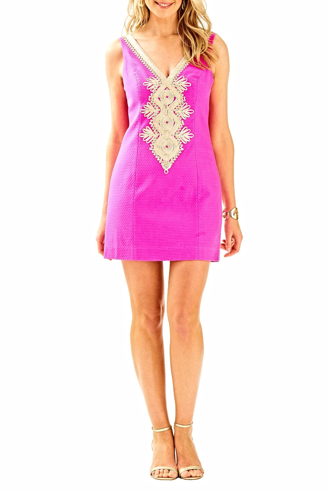Lilly Pulitzer Junie Sheath Dress - Back Cropped Image