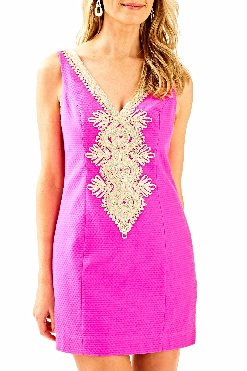 Lilly Pulitzer Junie Sheath Dress - Front Cropped Image