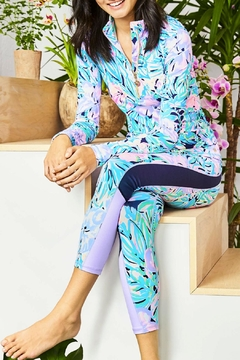 Lilly Pulitzer Justine Pullover Luxletic UPF 50+ - Alternate List Image