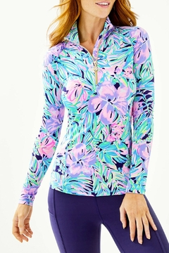 Lilly Pulitzer Justine Pullover Luxletic UPF 50+ - Product List Image