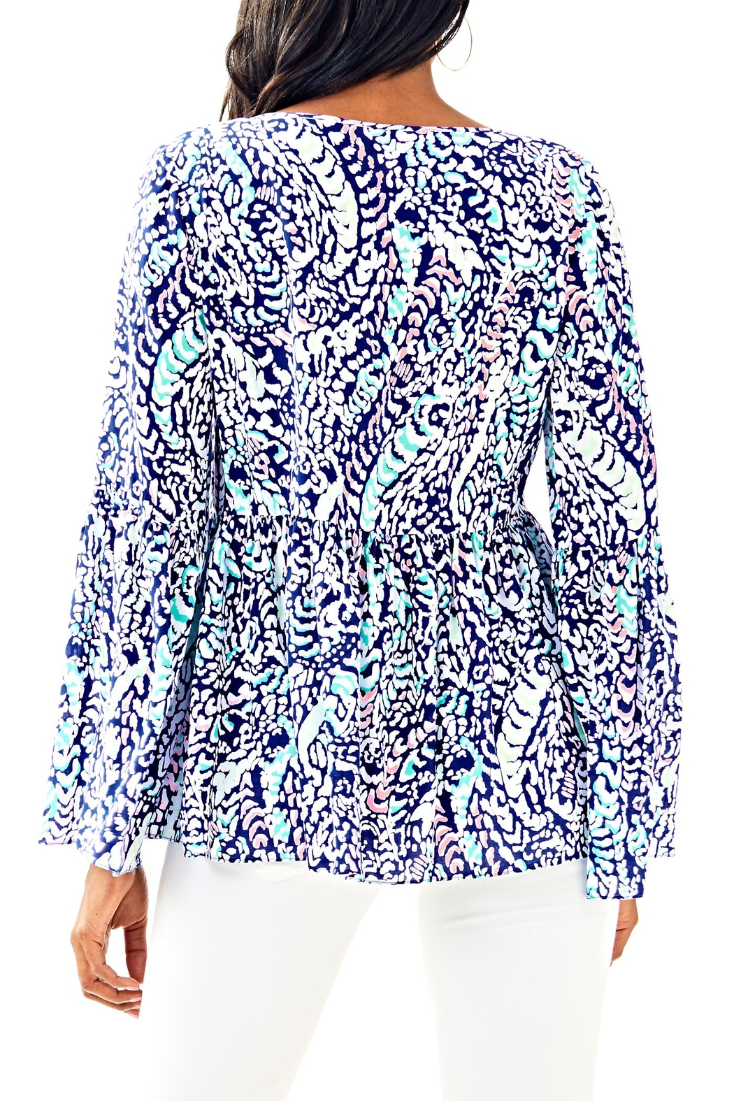 Lilly Pulitzer Kahli Top - Front Full Image