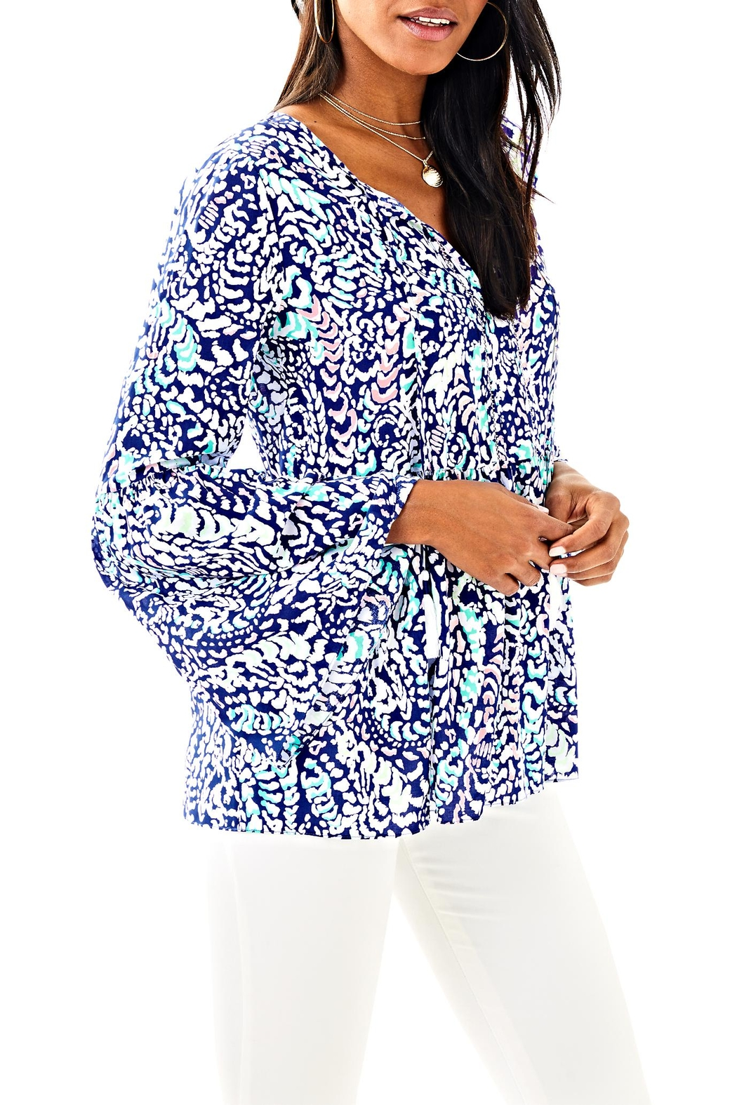 Lilly Pulitzer Kahli Top - Main Image
